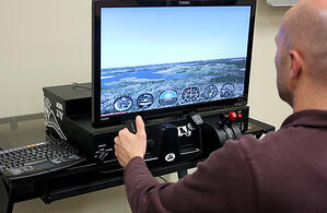 How to Set up a Home Flight Simulator