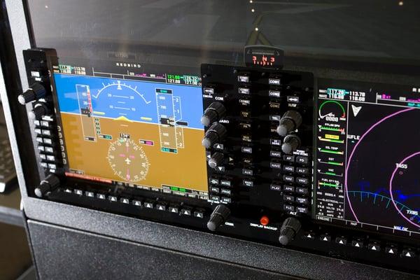 Redbird TD Instrument Panel