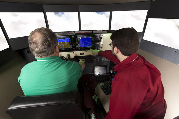 Student and Instructor IFR Training