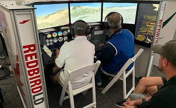 Pilot Training in the Pilot Proficiency Center at EAA AirVenture