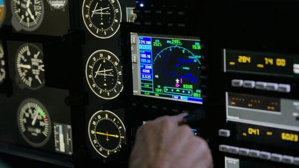 Using Instruments in Flight Simulator