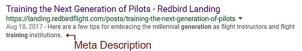 Training the Next Generation of Pilots