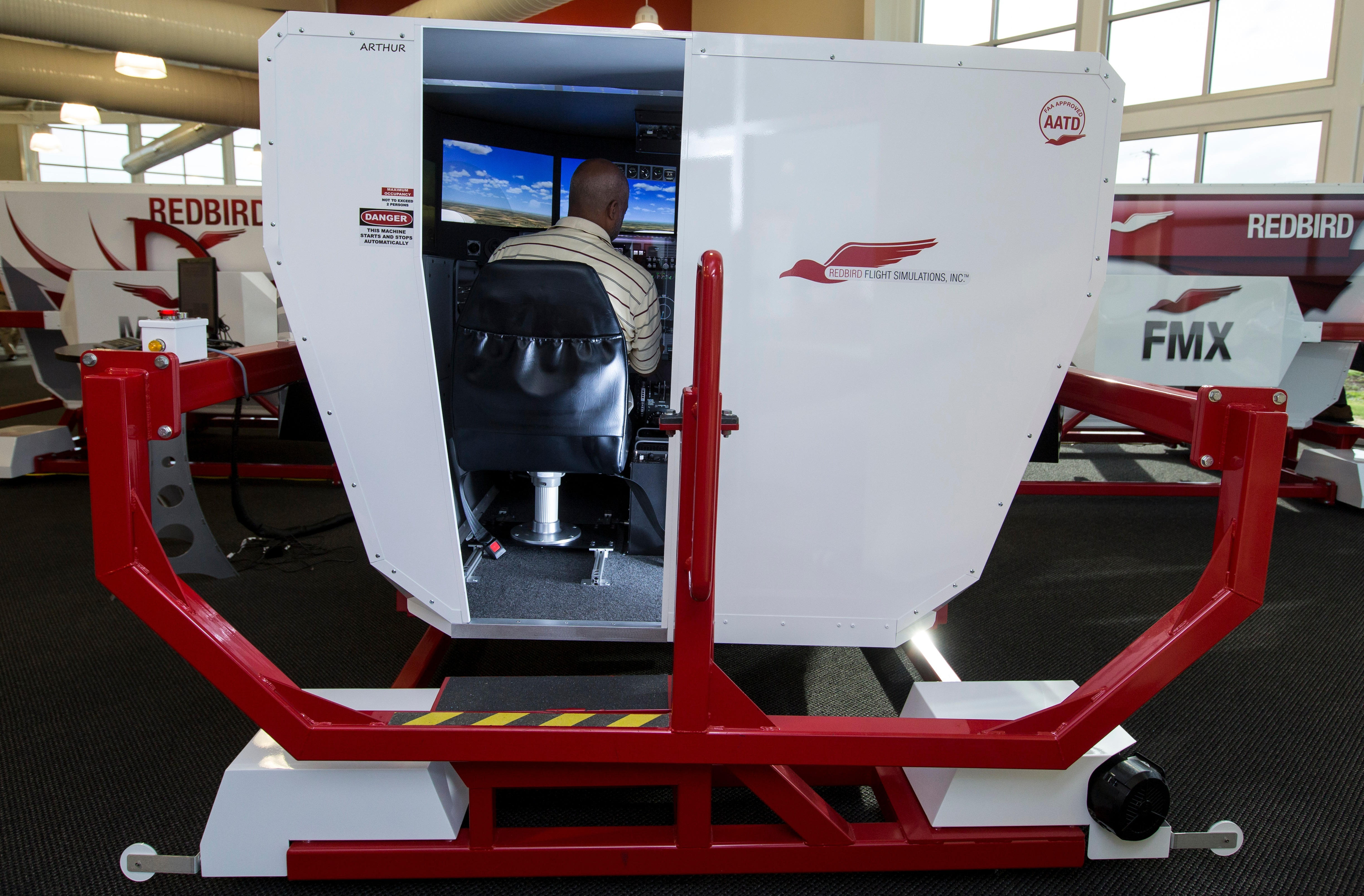 How Top Flight Schools Use Full Motion Flight Simulators
