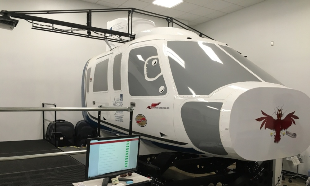 The Story Behind the Medevac Simulator at Case Western