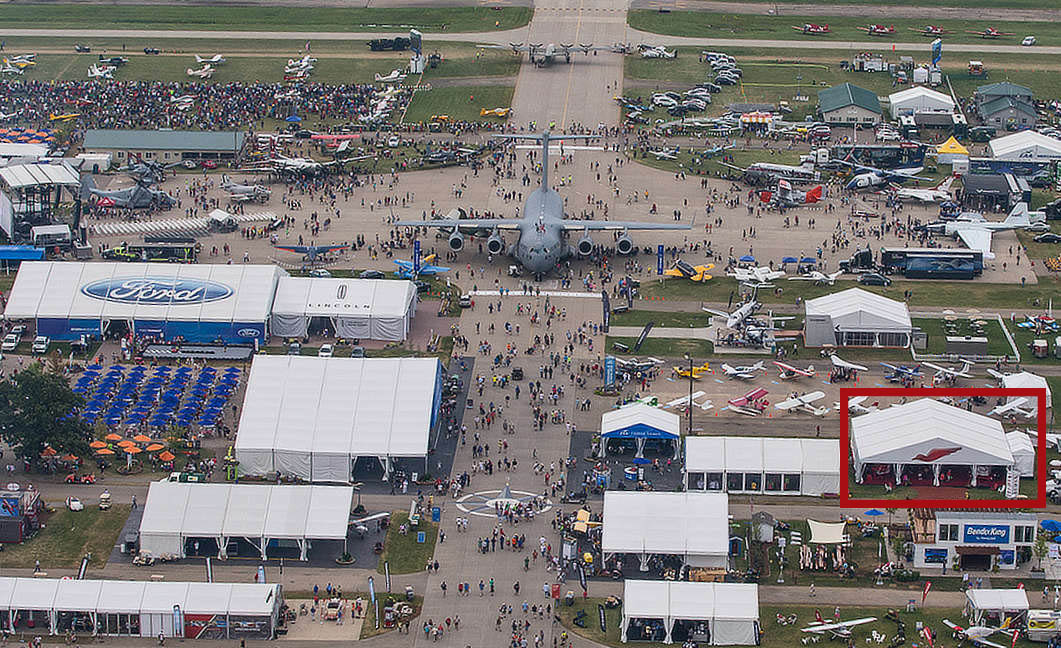 Redbird Ground References at AirVenture 2018