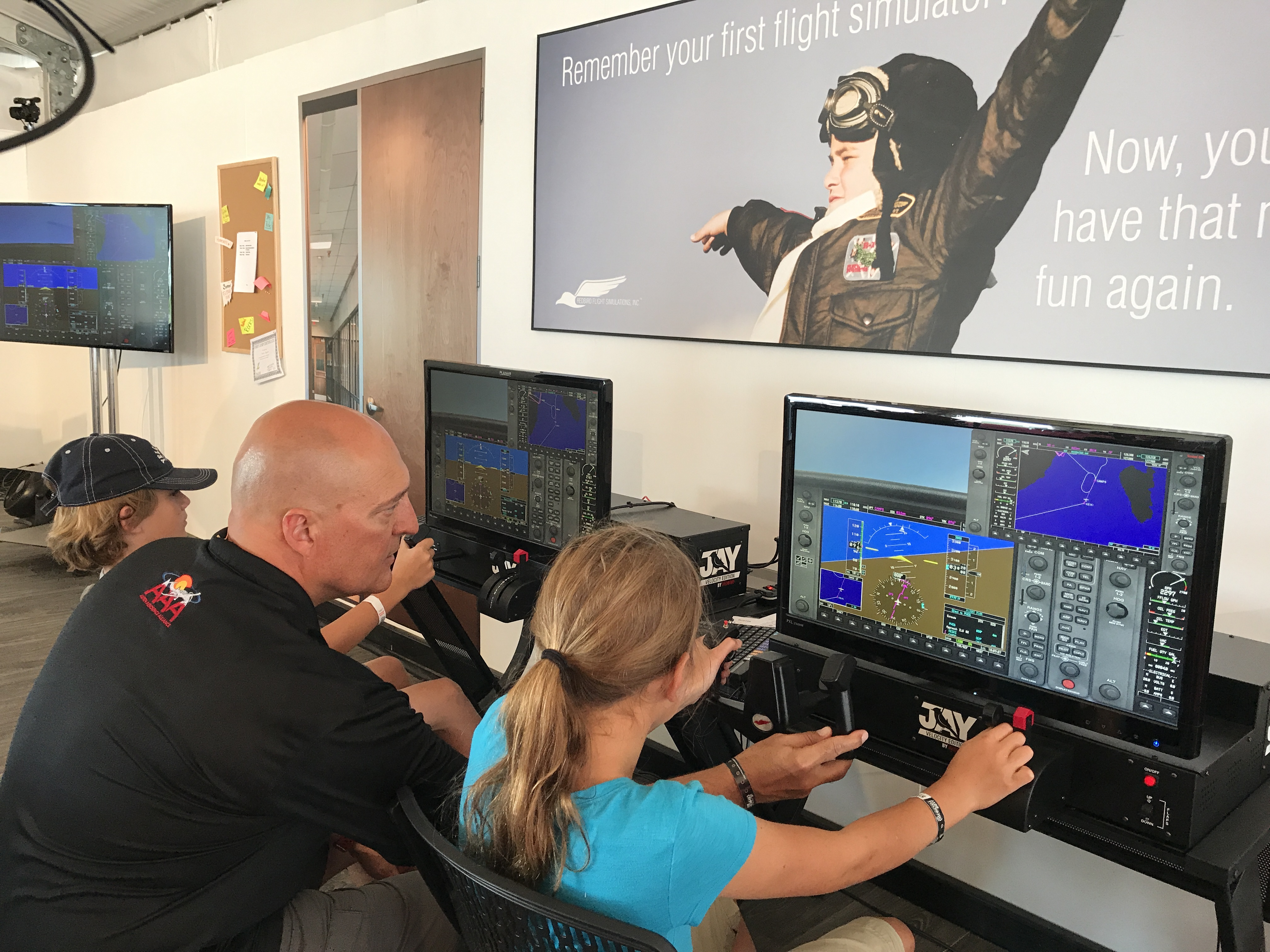 Redbird STEM Lab at the AOPA Fly-In (Missoula, MT)